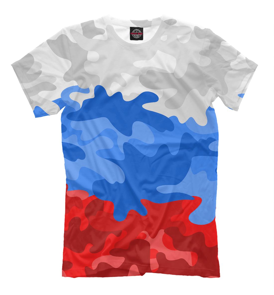 Камуфлаж флаг России