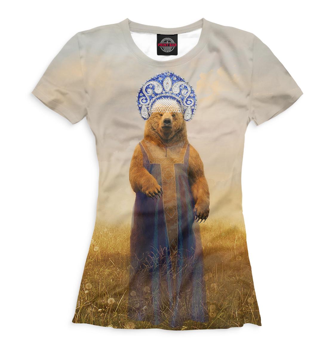Медведица в сарафане