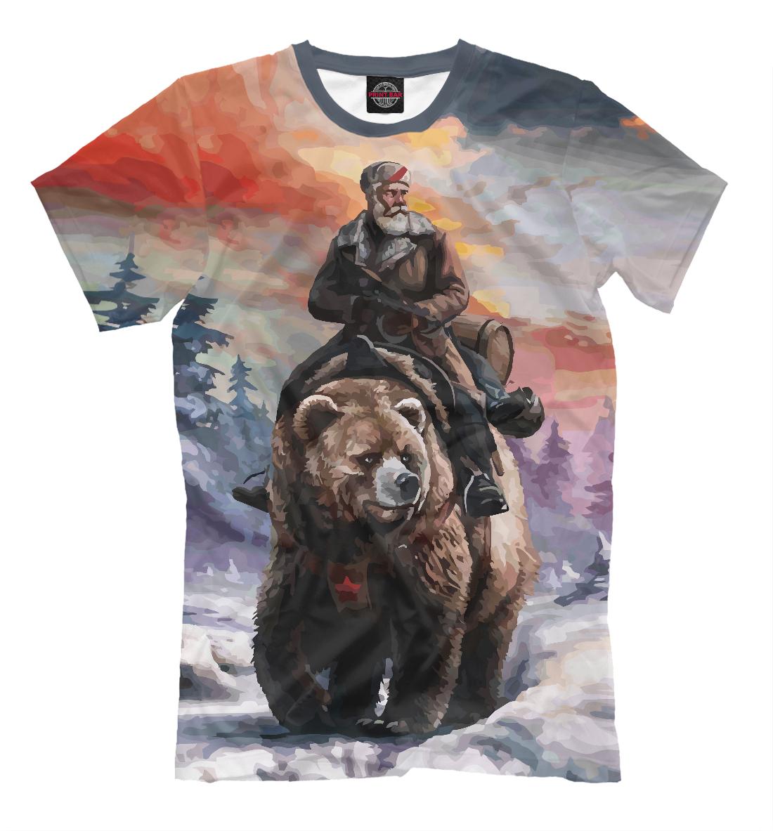 На медведе