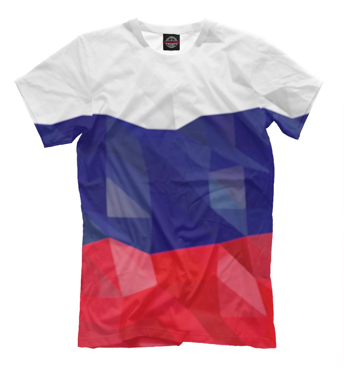 Флаг России полигоны